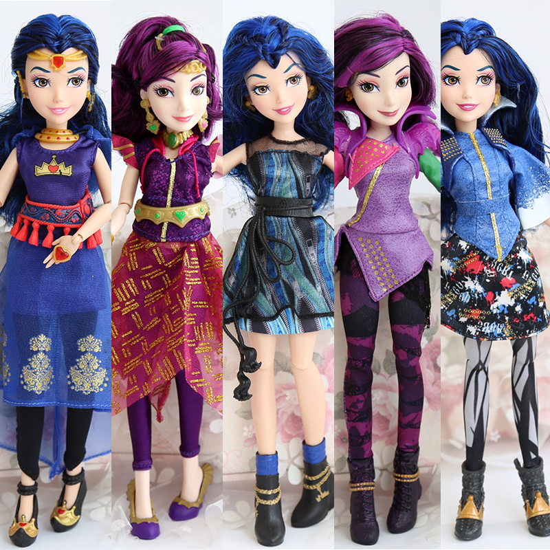 11inches Original Jimusuhutu Descendants Evie Mal Model BJD Dolls Fashion 11Joints Anime Figure Toy For Girls