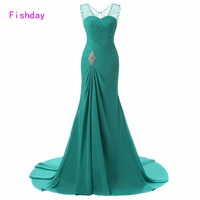 Sexy Long Train Emerald Green Expensive Cheap Royal Blue Mermaid Chiffon Women Saree Custom Made Prom