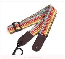 Ukulele strap national wind cartoon childrens student small guitar shoulder sling lanyard