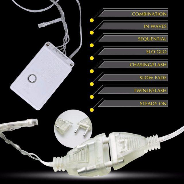 online shop 10m rgb led string light christmas lights indoor outdoor