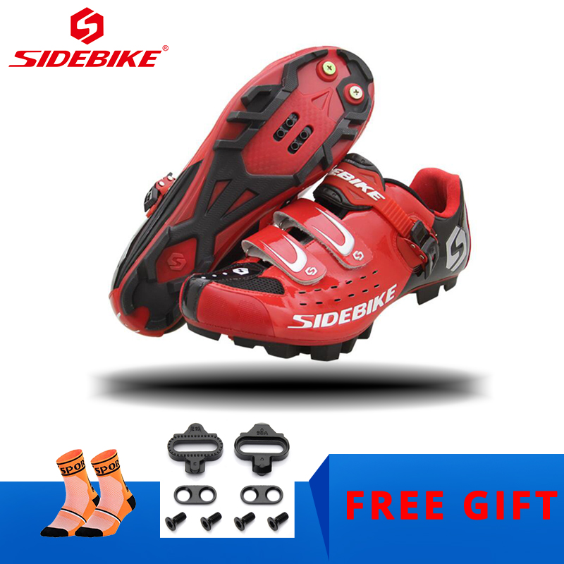 SIDEBIKE Cycling Shoes Men Mountain Bicycle Racing Shoes Women Self-locking Breathable Cycle Sapatilha Ciclismo MTB SPD SneakersSIDEBIKE Cycling Shoes Men Mountain Bicycle Racing Shoes Women Self-locking Breathable Cycle Sapatilha Ciclismo MTB SPD Sneakers