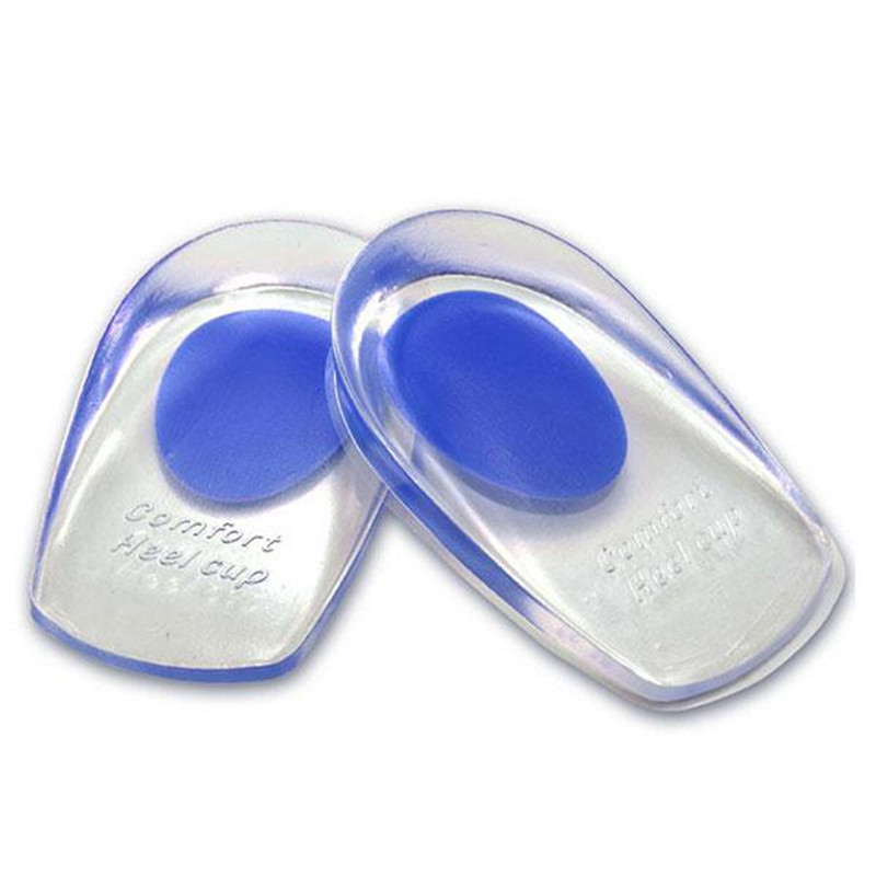 Health Foot Feet Care Gel Silicone Shoes Pads Boot Thenar Insoles Anti-Slip