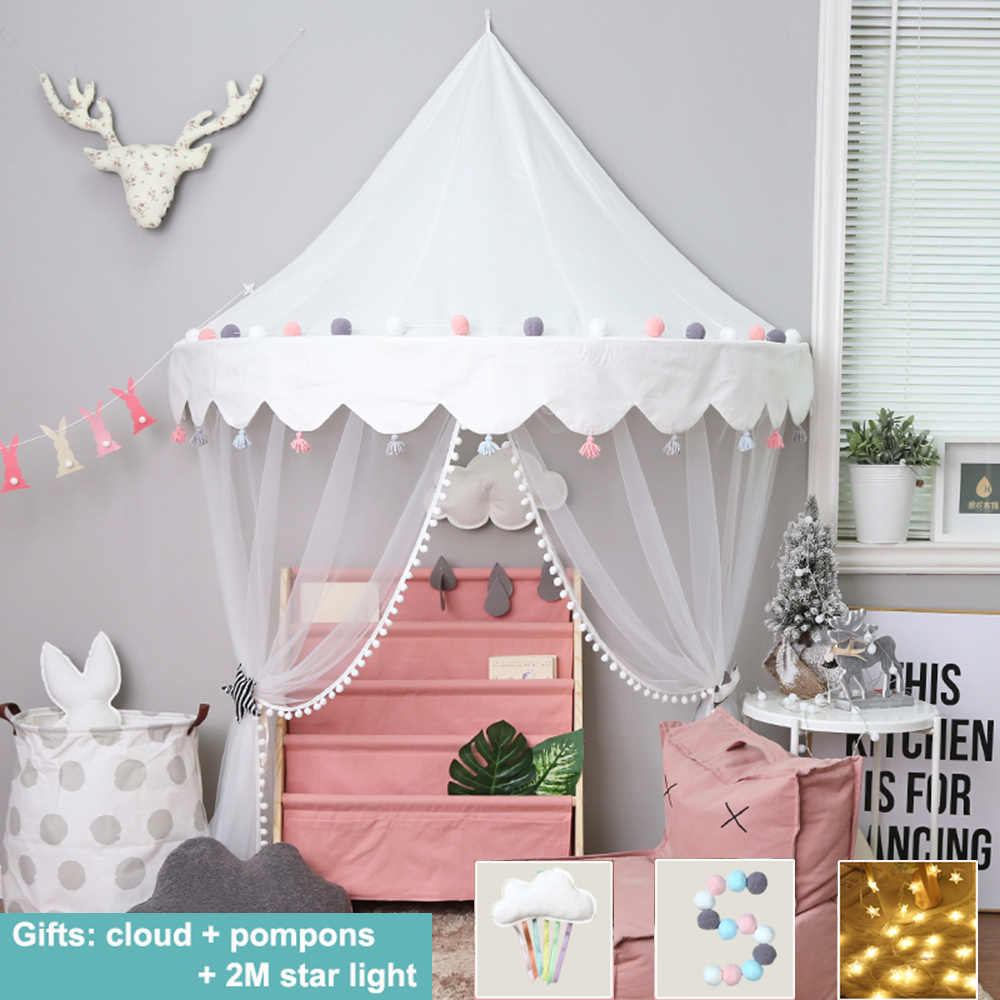 Detail Feedback Questions about Nordic Baby Crib Netting Mosquito Net Tent Crib Cot Bed Canopy Kids Hanging Play Tent House for Girls Children Infant ...  sc 1 st  AliExpress & Detail Feedback Questions about Nordic Baby Crib Netting Mosquito ...