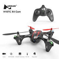 Hubsan X4 H107C Mini Quadcopter RC Helicopter Drone RTF with 480P HD Video Camera Mini Drones Remote Control Toys Black/Red
