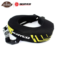 SCOYCO Motorcycle Neck Protector Motocross Neck Brace Motorcycle Neck Guard Protector Motorbike Protect Sports Bike Gear