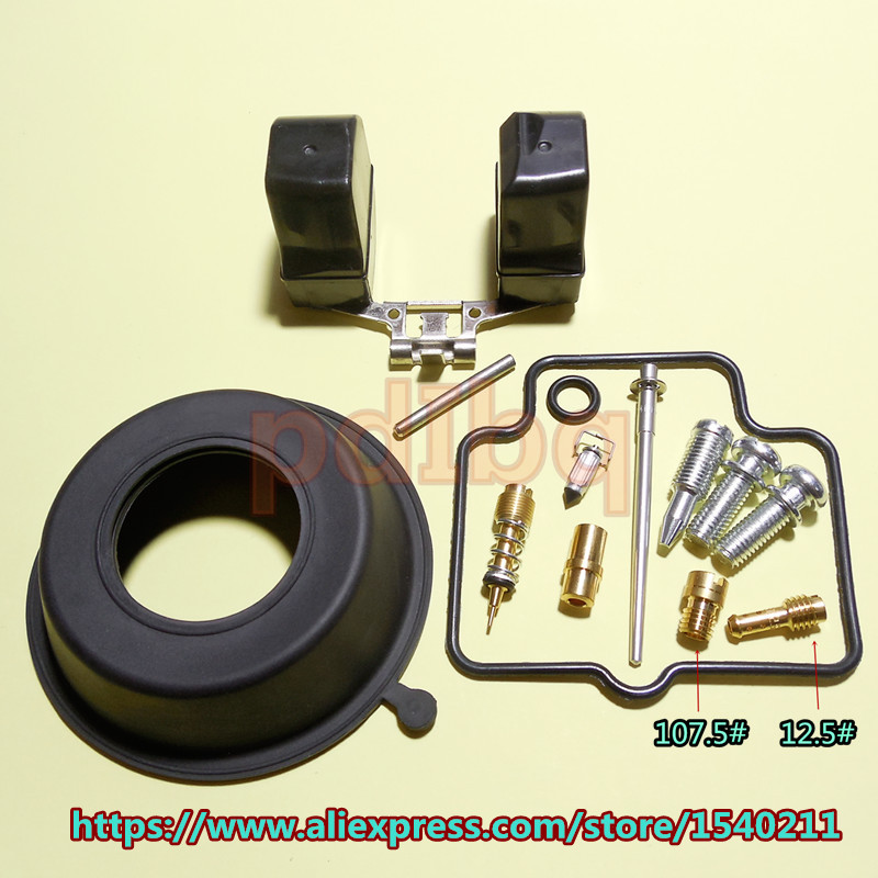 1* Professional Motorcycle Bikes Scooter Carburetor Vacuum Diaphragm Plunger Kit