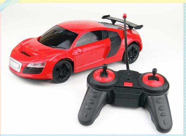 Alta qualidade 1:16 RC carros de controle remoto brinquedos para crianças brinquedos educativos brinquedo clássico luz 4 canais carros