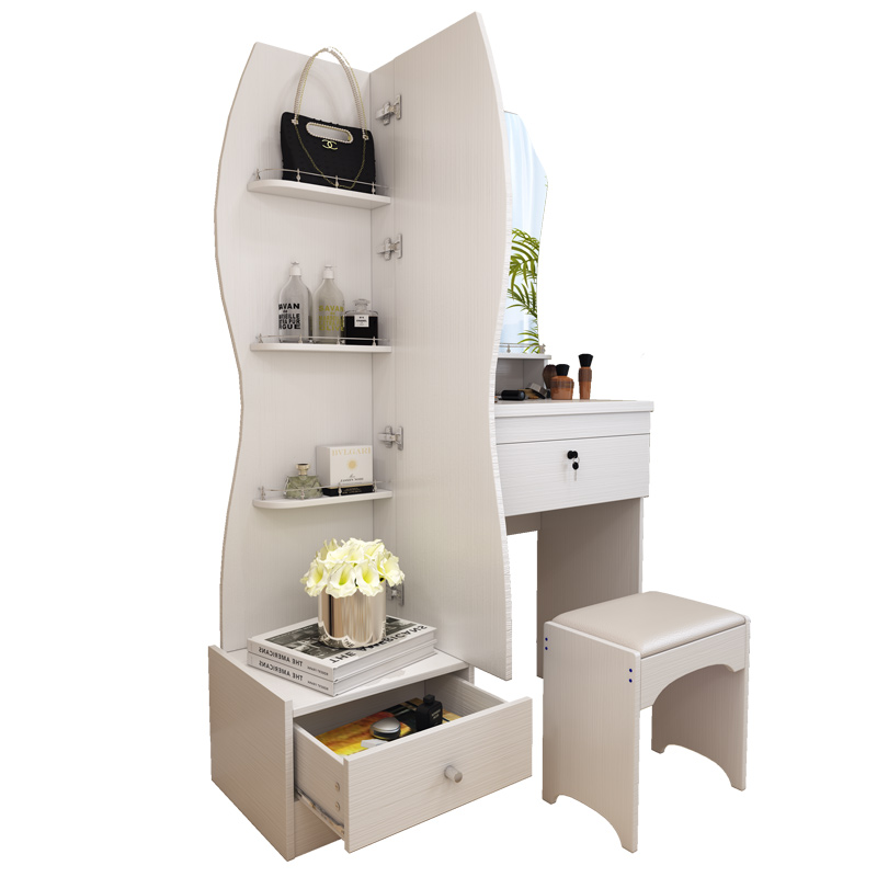 Coiffeuse blanc moderne simple mode multifonctionnel petite taille ...