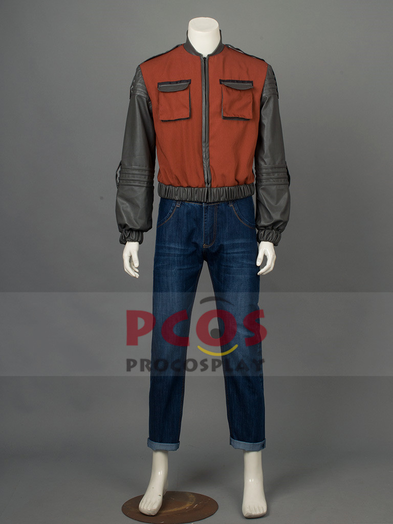 Back to the Future Part 2 Marty McFly Cosplay Costume Only Jacket / Coat mp002895