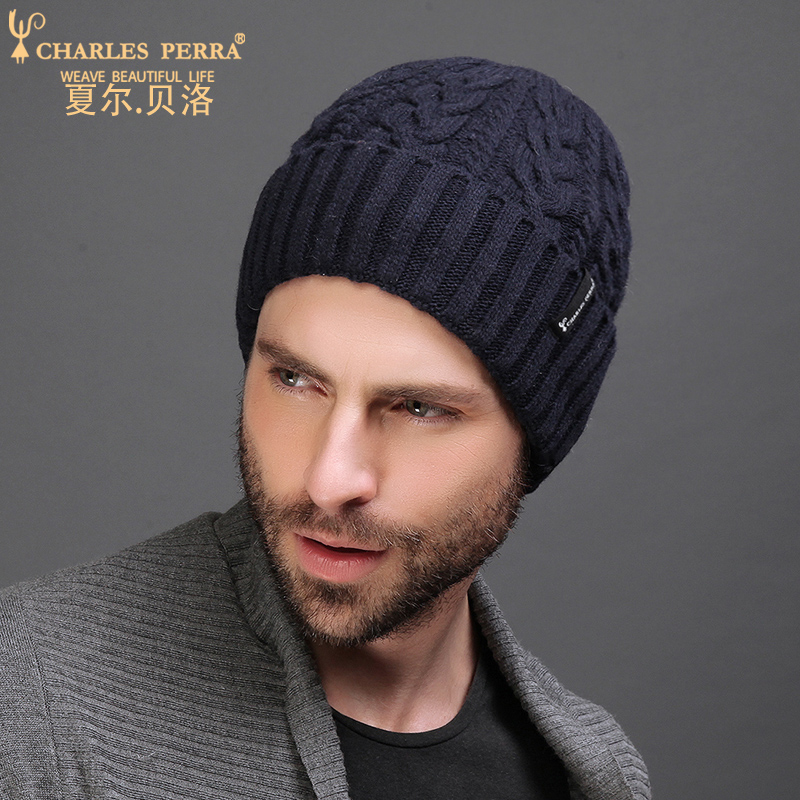 Charles Perra Men Knitted Hats Winter Do