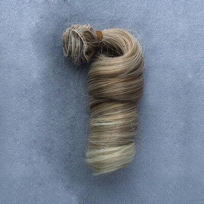 1 st 15cm * 100cm DIY Hög temperatur Curly hår för docka 1/3 1/4 - Dockor och tillbehör - Foto 3