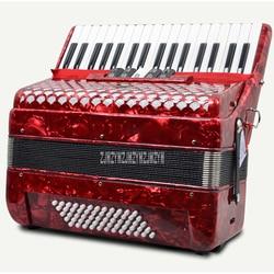 SJ2019 الكبار الأطفال لوحة المفاتيح أداة الأكورديون الراقية الأداء المهني 60-باس 34-مفتاح 5 تغيير الصوت للمبتدئين