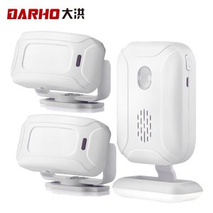 Image 5 - Darho 36 Ringtones Shop Store 홈 보안 Welcome Chime 무선 적외선 IR 모션 센서 알람 엔트리 초인종 센서