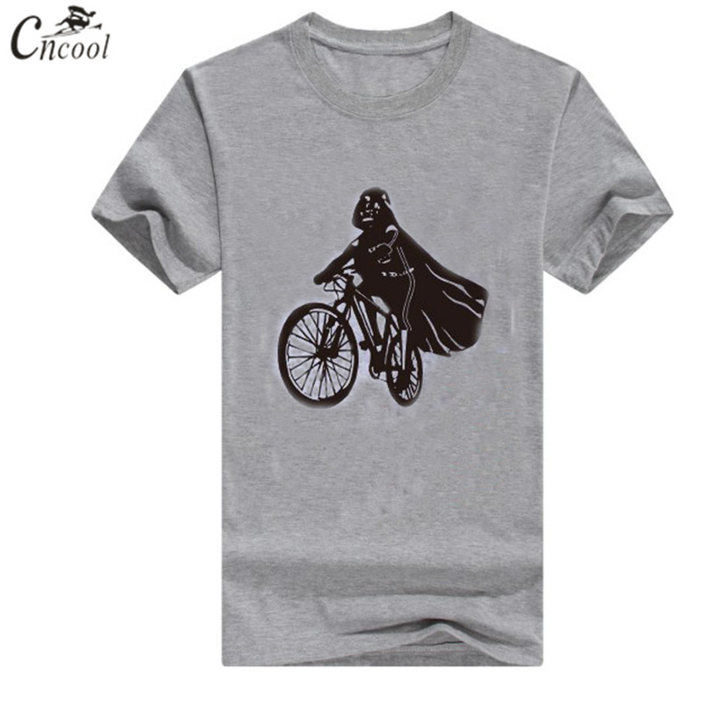 Cncool Men T-Shirts Star Wars Sunmmer print Model O-Neck short-sleeved t shirt Men's Casual brand Tee Shirt men tshirt size 5XL