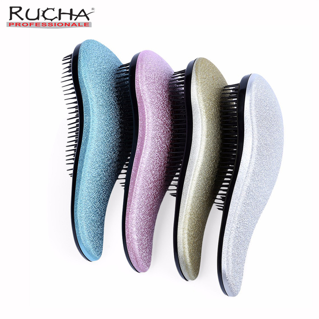 Magic Detangle Hair Brush Bling Shiny Comb Prevent Hair Loss Beauty Anti Static Hair Care Tangle Hair Brushes