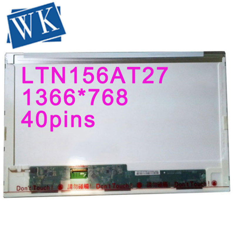 15.6 LCD LED SCREEN LTN156AT27 LTN156AT02 B156XTN02.2 N156BGE-L21 LTN156AT05 B156XW02 LP156WH4-TLN1/TLA1 Matrix Screen
