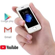 Melrose S9P S9X S9 Plus 2.5 cala smartfony czterordzeniowy 1G + 8GB kamera Bluetooth 1000mah WiFi Mini kieszeń telefony komórkowe