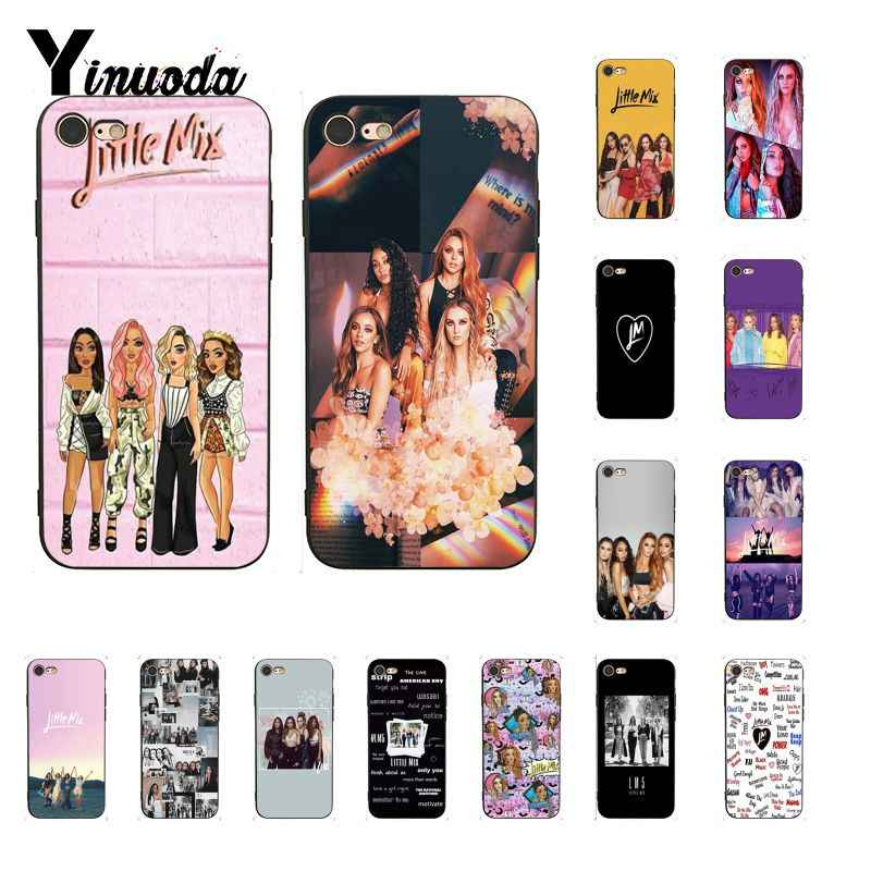 Yinuoda Little Mix Novelty Fundas โทรศัพท์สำหรับ iPhone 8 7 6 6 S 6 Plus X XS MAX 5 5 S SE XR ฝาครอบ