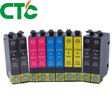 10 Pack 18xl T1811  Ink Cartridge Compatible for INK Expression Home XP-30 XP-102 XP-202 XP-205 XP-302  XP-305 XP-402 XP-405