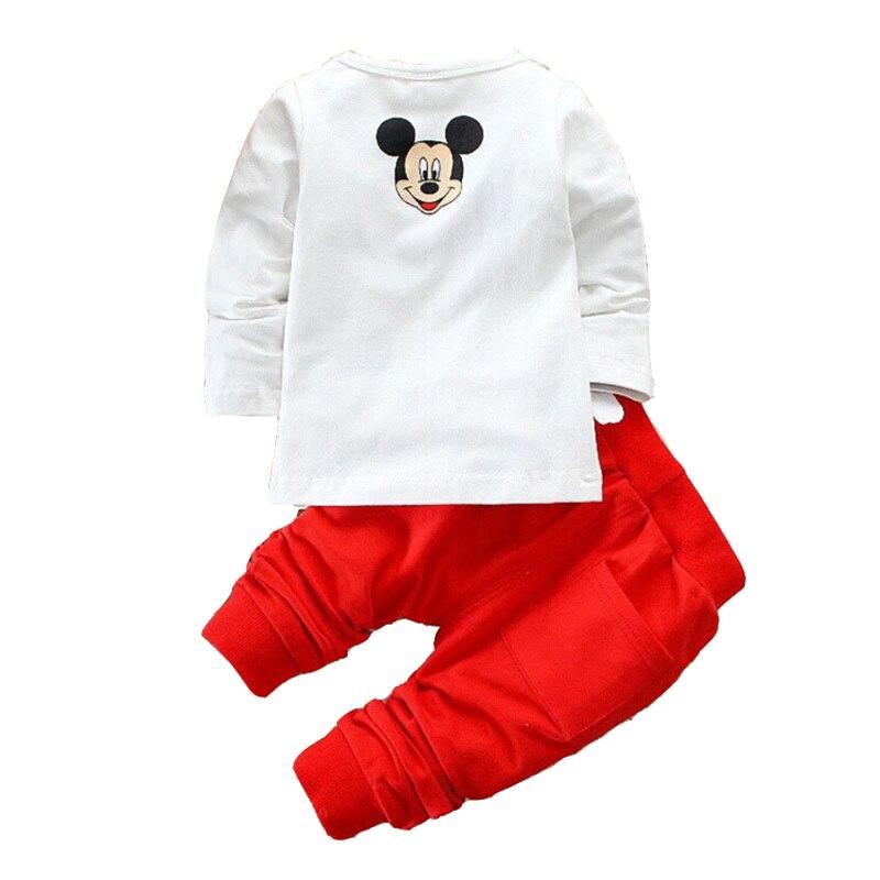 2019 kinderen meisjes jongens merk kleding set baby lente karakter - Kinderkleding - Foto 2