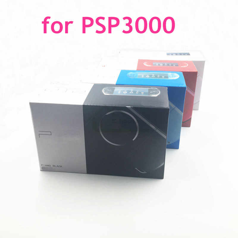 High Quality New Packing Box Carton for PSP 3000 Game Console Packaging with Manual and Insert for PSP3000