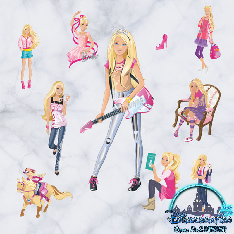 barbie stickers for girls www imgarcade com online barbie party supplies dolling up your home for the