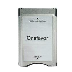 Promotion!!! Adaptateur SDHC PCMCIA vers lecteur de carte PC SD pour classe mercedes-benz GLK/SLK/CLS/E/C