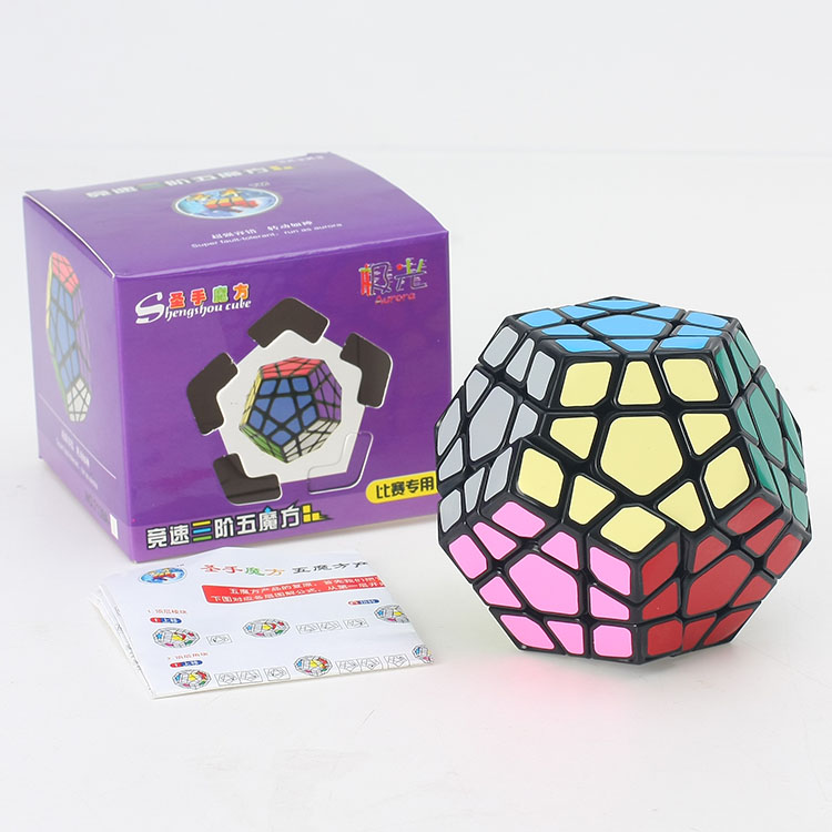 Puzzles & Games Industrious New Shengshou Jiguang/aurora Dodecahedron Magic Cube Puzzle Speed Cubes Educational Toy Special Toys Discounts Sale Toys & Hobbies