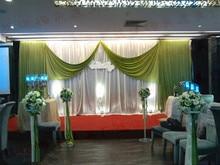 Top selling 20ft*10ft wedding backdrops for wedding decoration, wedding favor