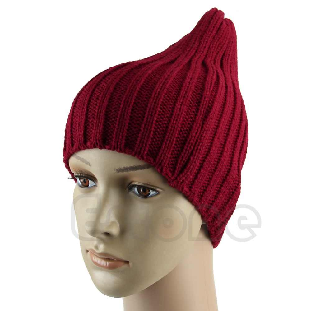 c897b7ccad5 ... Hot Men Stylish Hip-Hop Warm Winter Wool Knit Ski Unisex Beanie Skull  Cap Hat ...