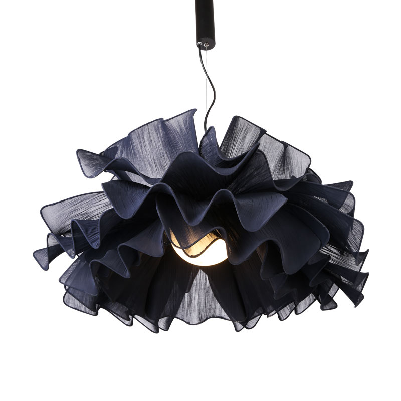 Nordic modern rural wind pendant lamps warm romantic living room dining room bedroom lights iron cloth pendant light ZA8292t10 3 heads pendant lamps dining room glass pendant light living room lights bedroom pendant lamps iron lamp fg552