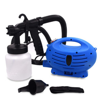 Electric Spray Gun HVLP LVLP Paint Sprayer Painting Compressor 650W For Auto Cars Furniture Steel Coating Paint Pistol 220v