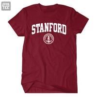 Stanford University T Shirt College Tee Tshirt Men Women 100 Cotton 2016 New Casual Jersey Comfortable