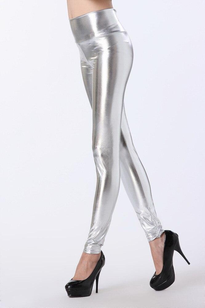 Solid Lace Up Faux Կաշվե ձգվող վզնոցներ - Կանացի հագուստ - Լուսանկար 5