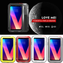 Waterproof Cover for LG V30 Plus V35 ThinQ V30S Case Aluminum Metal Shockproof For V30+ Heavy Duty