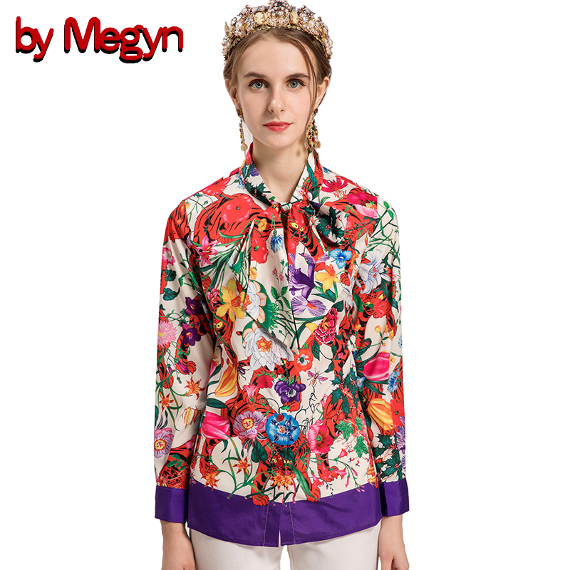 Women's Clothing 2018 Summer New Women Casual Button Long Sleeve Fashion Bow Shirt