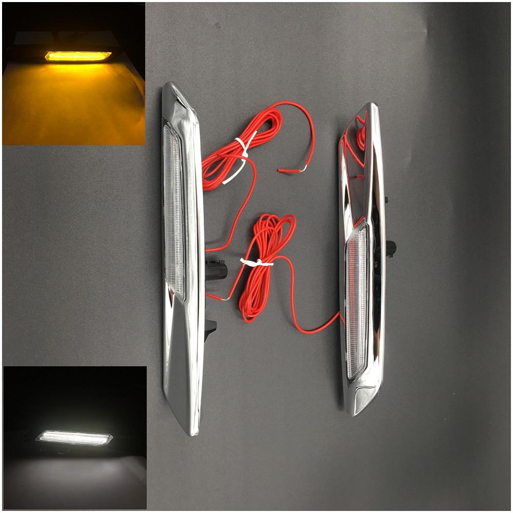 XYIVYG F10 Style LED Fender Side Marker Light Turn Signal Lamp for BMW E81 E82 E87 E88 E90 E91 E92 E93 E60 E61 Amber 4pcs black led front fender flares turn signal light car led side marker lamp for jeep wrangler jk 2007 2015 amber accessories