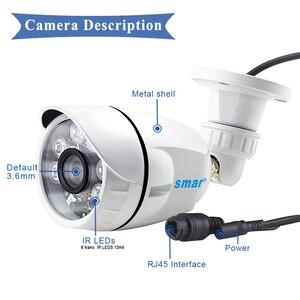 Image 5 - H.265 2MP 4MP 5MP HD Camera IP Onvif Bullet IP Camera Ngoài Trời Chống Nước P2P XMEYE Đám Mây Qua iPhone Android Điện Thoại xem Từ Xa