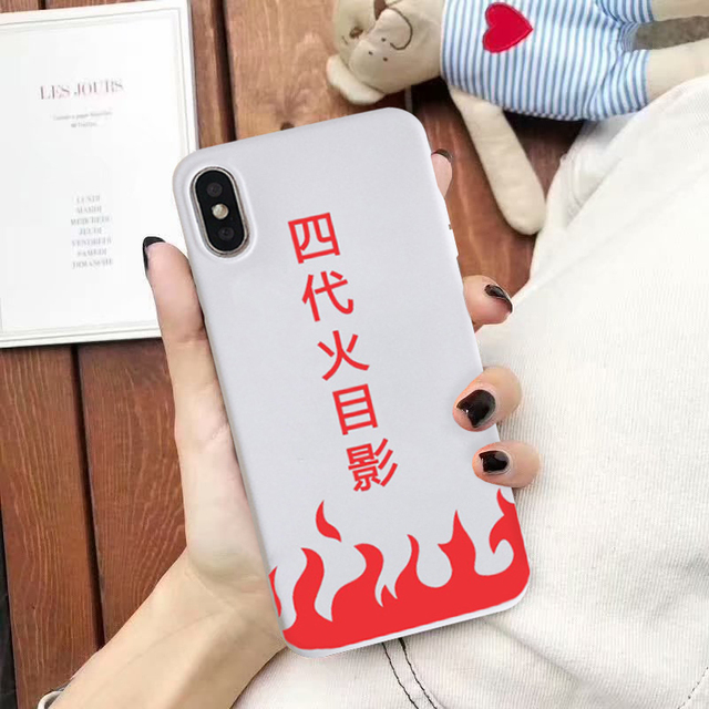 Naruto Soft Matte Silicone Case For iPhone Models