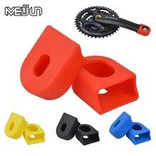 цена MEIJUN Mountain Bikes Road Bicycle Cycling Crankset Crank Protective Sleeve Cover Parts онлайн в 2017 году