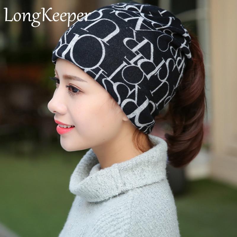 New Korea Brand Hip-Hop Hat &Sacrf Women Knitted Hat Skullies Lady Touca Letter Gorro Piles Cap Fashion Beanies Women's Hat new korea brand hip hop hat