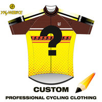 YKYWBIKE Pro Customized Cycling Jersey Men Women Team Racing MTB Bike Clothing Bicycle Wear Ropa Ciclismo Affordable Custom