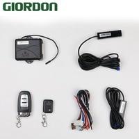 GIORDON смартфон Управление ПКЕ автосигнализации Системы комплект умный пассивный Авто центральной MP068