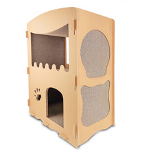 cardboard house   cat condos  mascotas tree climbing cat shelf  kitten house cat furniture scratching posts-in Furniture & Scratchers from Home & Garden on Aliexpress.com | Alibaba Group