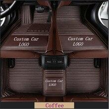 NEW Custom Logo car floor mats for Mercedes Benz A C CLA E class W169 W176 W245 W246 W203 W204 W205 C117 W211carpet цена 2017