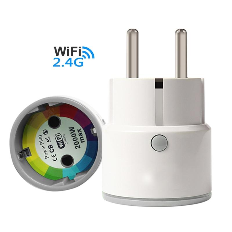EU Smart Power Socket Plug Basic WiFi Wireless Remote Socket Adaptor Power on and off Via Smart phone power adaptor with uk socket plug for smart phone tablet pc mini pc
