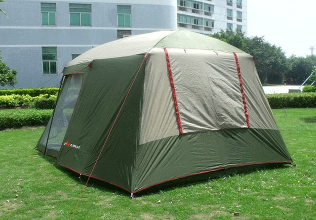 2017 Hot sale outdoor 5-8 persons beach camping tent anti/proof wind/rain UV/waterproof 1room 1hall for sale/on sale