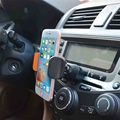 Super apoio telefone slot de cd carro titular respiradouro de ar do telefone móvel para acessórios do telefone redmi 3 lg g4