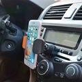 Super teléfono de soporte cd slot car air vent mobile phone holder para redmi 3 lg g4 teléfono accesorios