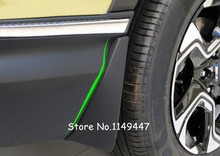 For Honda CRV CR-V 2017 2018  Black  Plastic  Accessories Exterior Car-Styling  Splash Guard Mud Flaps Cover 4pcs
